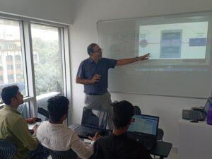 First Python training at Kothrud Pune